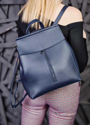 Стильный женский рюкзак сумка aliri-451-03 синий