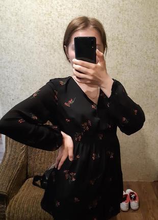 Платье в цветочный принт/плаття