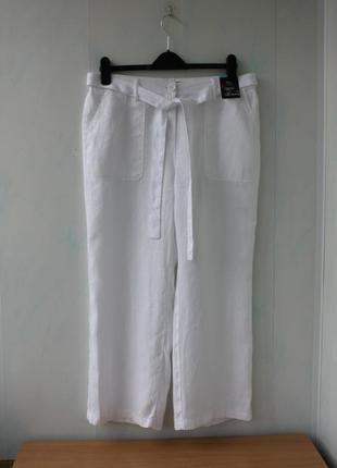 Стильные штаны 100%лен