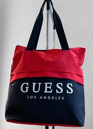 Пляжная сумка / сумка в спортзал / сумка для ручной клади guess