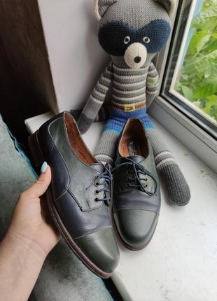 Кожаные туфли,мокасины ,лоферы. енот в подарок !