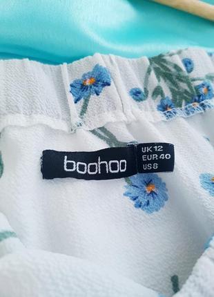 🥳💜💙summer sale 💜💙легкая и нежная блуза на плечи в цветочный принт4 фото