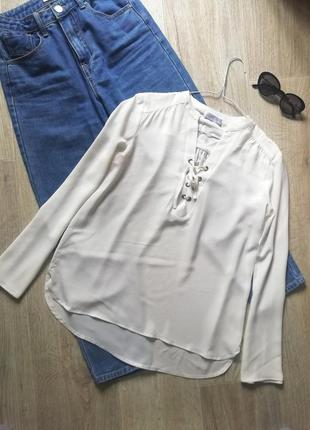 Шикарная блуза свободного кроя, блузка свободного кроя, рубашка, сорочка, рубашка оверсайз1 фото