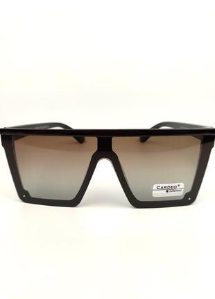 Солнцезащитные очки «сelin» с коричневой оправой и коричневой градиентной линзой