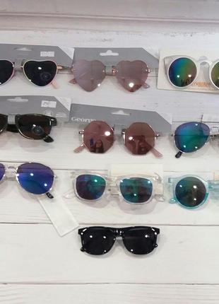 Нові стильні дитячі  сонцезахисні окуляри h&m george
