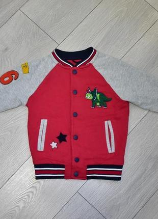 Детская кофта на кнопках пиджак пуловер жакет на 3-4 года next
