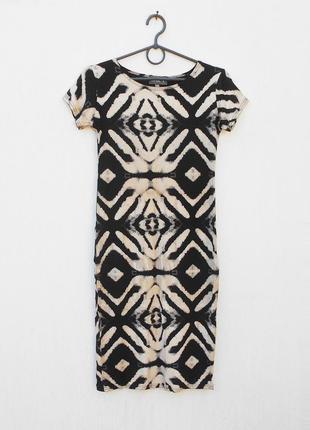 Трикотажное облегающее платье из вискозы 🌿