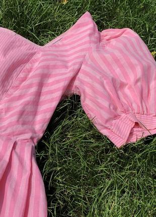 Потрясающее винтажные летнее платье из 100% хлопка!