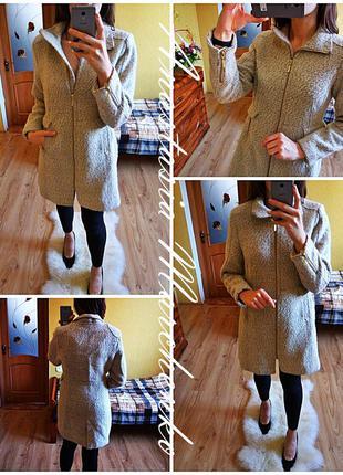 Нежное теплое пальто
