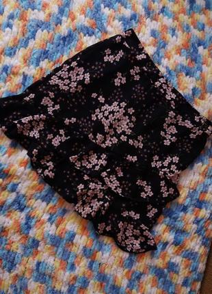 Шифонова юбка спідниця george