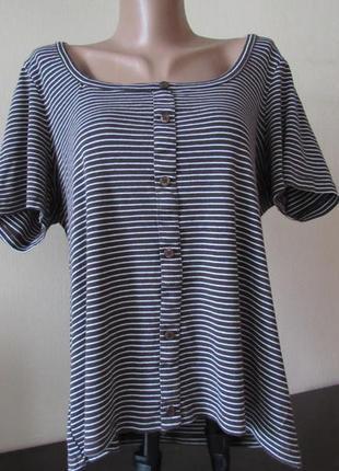 Женская футболка в полосочку dorothy perkin,женская футболка, женская блуза dorothy perkins размер l