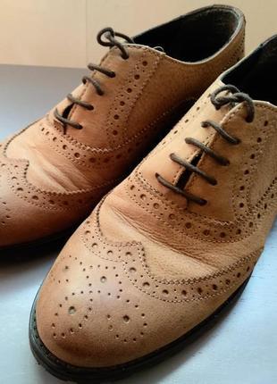Классические оксфорды/классические туфли/туфли с перфорацией/туфли унисекс