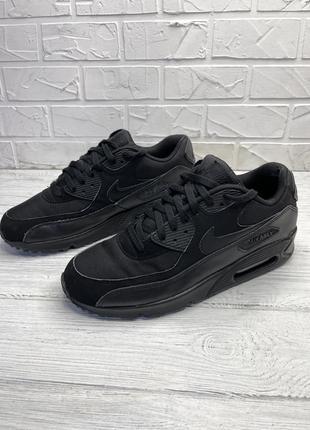 Кроссовки черные nike air max 90