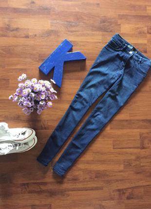 Джинси джинсы штаны синие next