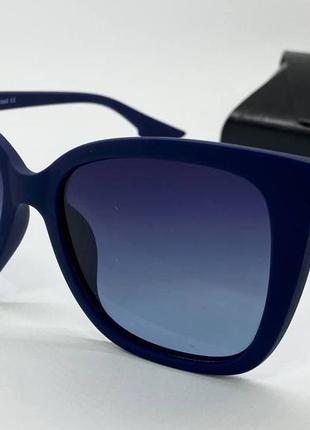 Atmosfera очки женские солнцезащитные синяя матовая классика с поляризацией