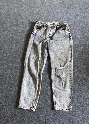 Прямые джинсы бершка