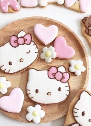 Формочки для печенье hello kitty как в пинтересте