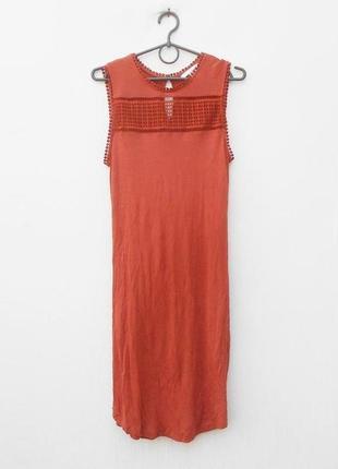 Трикотажное платье из вискозы