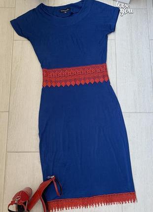 Женское платье с кружевом🔝