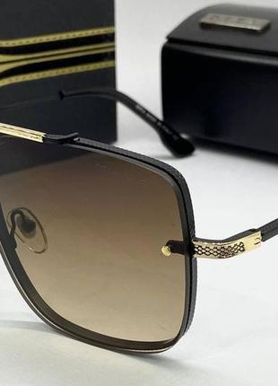 Dita очки мужские солнцезащитные коричневая маска-авиатор