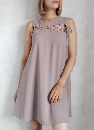 Базовое оверсвйз платье саоафан