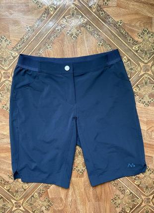 Треккинговые шорты maloja, оригинал, размер м, мужские, спортивные, летние, синие, новые