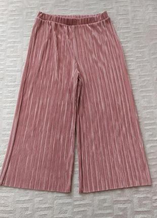 Стильные летние брюки, штаны с высокой посадкой primark
