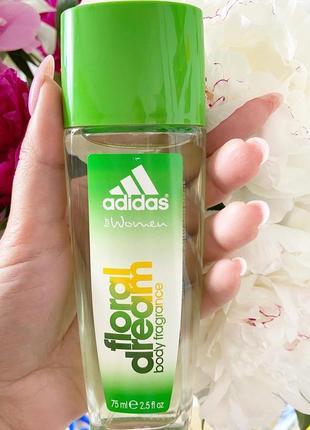 Парфюмированный дезедорант для тела adidas floral dream