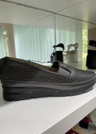 Женские летние туфли, летние туфли с перфорацией, жіночі туфлі, жіночі літні туфлі