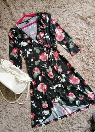Платье в цветочек, платье летнее в цветочек, сарафан в цветочек, платье цветочный принт