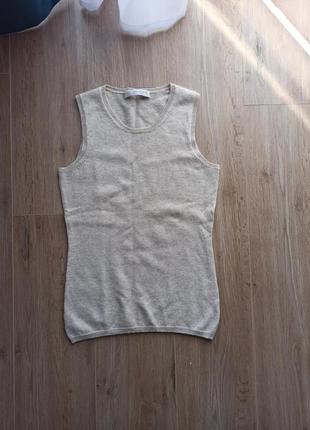 Кашемировый свитер безрукавка ftc cashmere 100% кашемир
