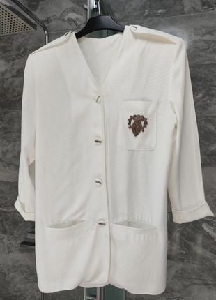 Удлиненный пиджак / платье пиджак
