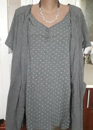2в1 футболка+накидка з'єднані.