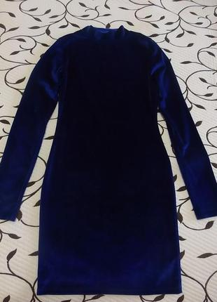 Платье женское велюровое, размер xs, фирмы missguided