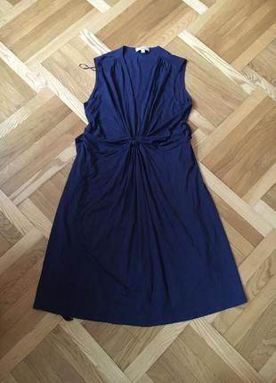 Батал большой размер стильное темное натуральное платье платьице плаття сукня
