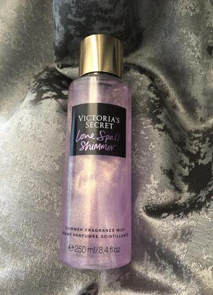 Мист victoria's secret спрей для тела с шиммером