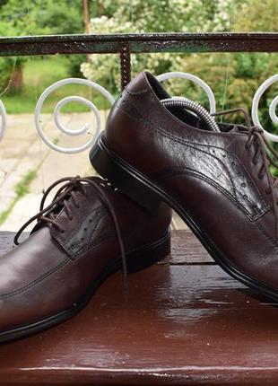 Туфли rockport fairwood 2 moc front dress shoe2 фото