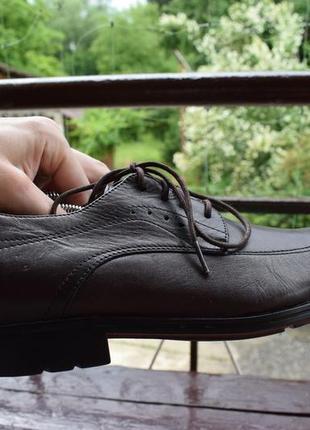 Туфли rockport fairwood 2 moc front dress shoe3 фото