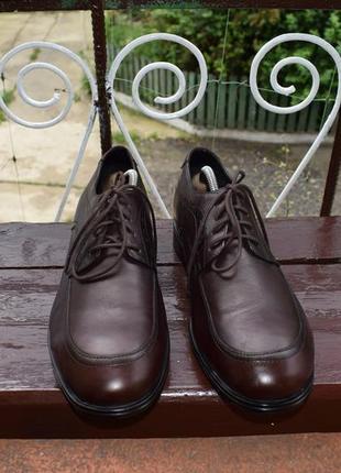 Туфли rockport fairwood 2 moc front dress shoe5 фото