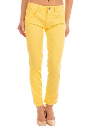 Итальянские летние брюки джинсы. яркие. супер качество! талия 32/33. бренд blugirl folies