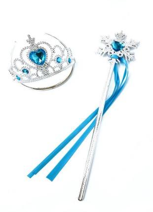 Корона и волшебная палочка принцессы эльза