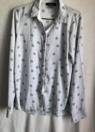 Рубашка с ромашками