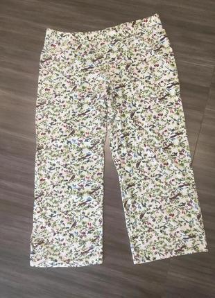 Легкие домашние женские штаны