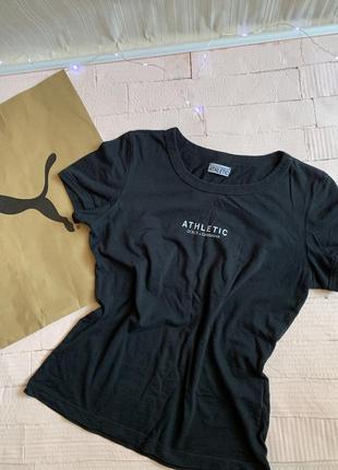 Черная базовая футболка хлопковая dolce & gabbana оригинал
