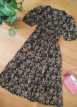 Милое платье в цветочек george