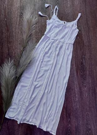 Пляжное платье, сарафан из вискозы , размер 14 , atmosphere