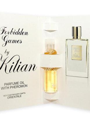 Kilian forbidden games oil 5 ml  original mini масло 5 мл книжка