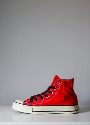 Converse all star яркие кеды на шнуровке