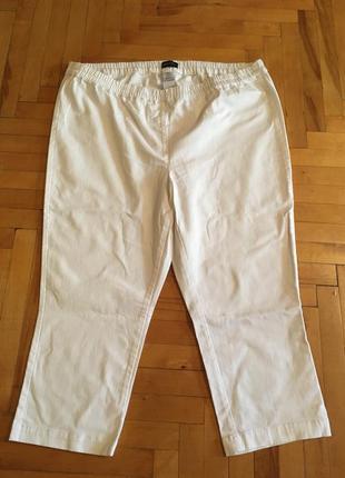 Белые брюки 48/50 miamoda