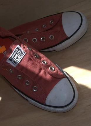 Стильные кеды без шнурков converse